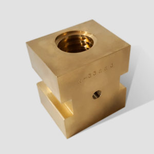 N-33863 Bronze Drive Block w/ Acme Thread | The Machine Center